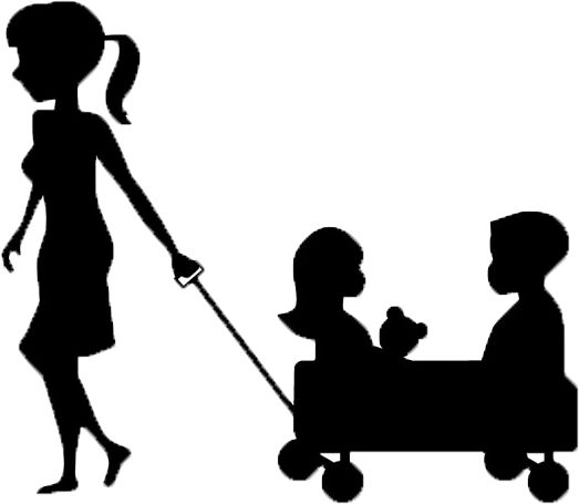 best nanny business. Babysitting clipart single mother