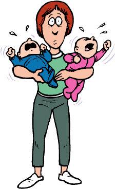 Social evolution is spinning. Babysitting clipart single mother