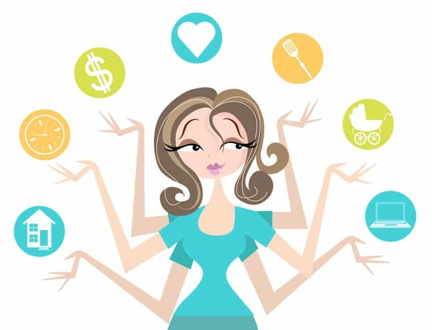 tips for successfully. Babysitting clipart single mother