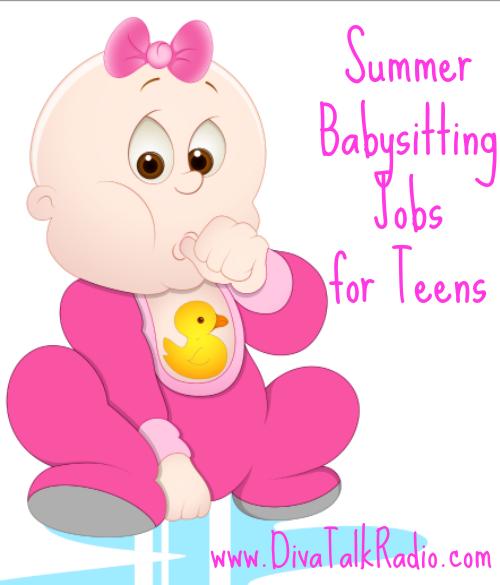 Jobs incep imagine ex. Babysitting clipart summer