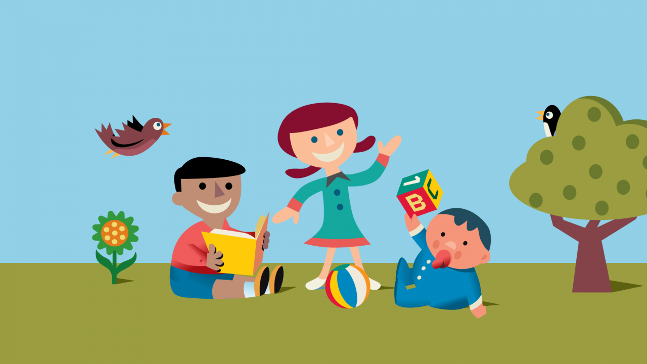 New initiatives offer child. Babysitting clipart take care kid
