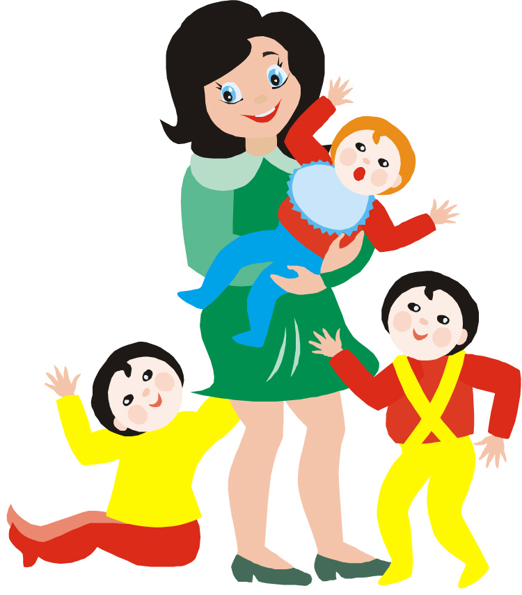 Cozy cubbies home daycare. Babysitting clipart take care kid