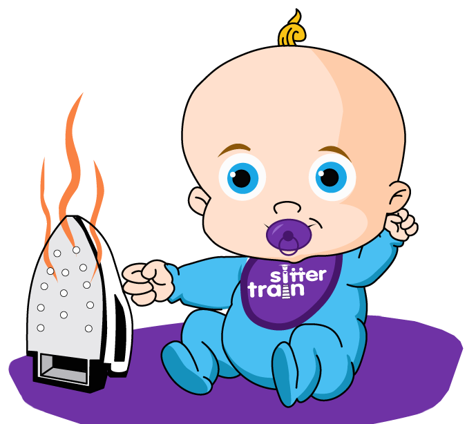 Sitter train training over. Babysitting clipart transparent