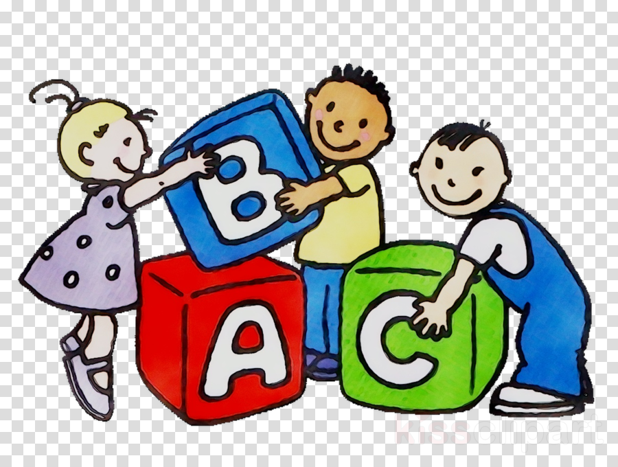 Daycare clipart cartoon. Kids playing child family