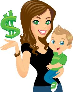 Hiring the best nanny. Babysitting clipart unhappy family