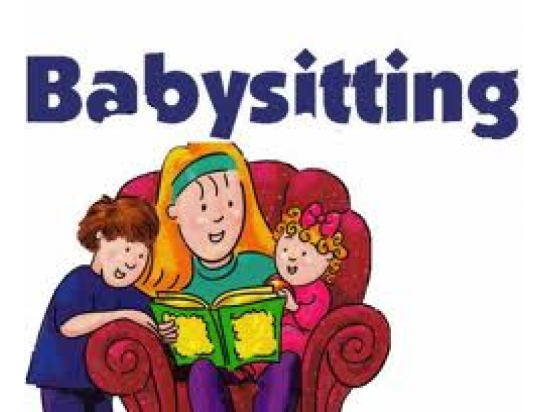 In need of a. Babysitting clipart weekend