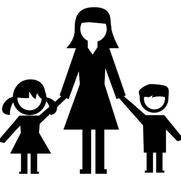 Babysitter icon free icons. Babysitting clipart woman child