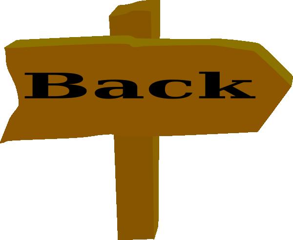Go clip art at. Back clipart