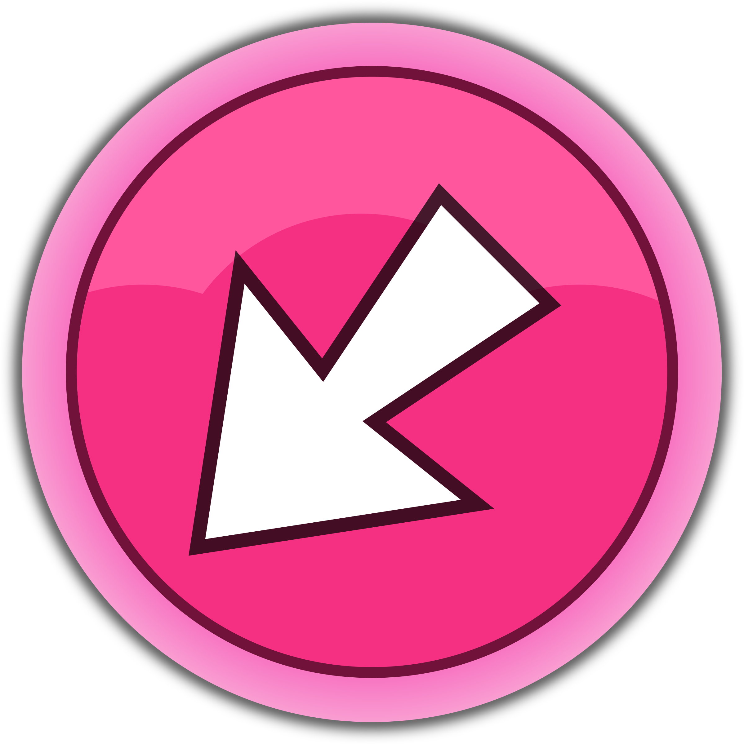 Pink big image png. Back clipart arrow