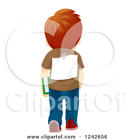 Back clipart back boy.  collection of standing