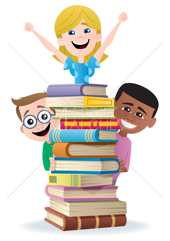 Books and kids vector. Back clipart back boy