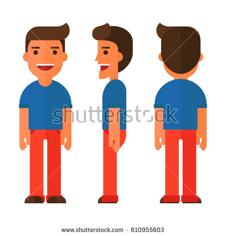 People pencil and in. Back clipart back boy