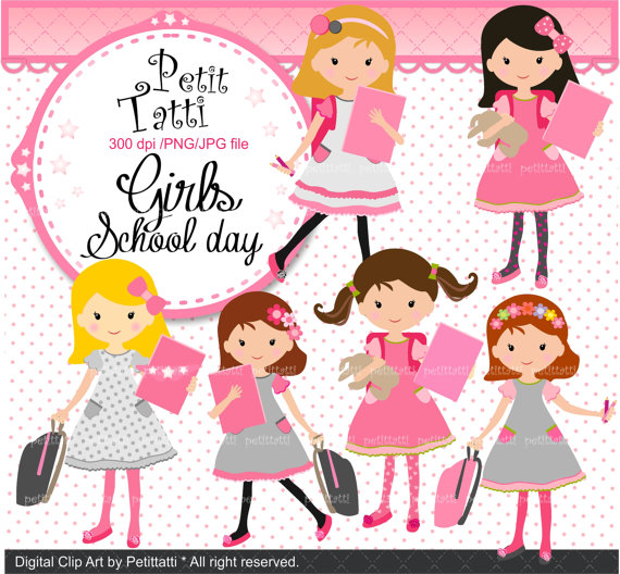 On sale school clip. Back clipart back girl
