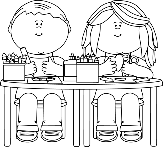 To school teachers students. Back clipart black and white