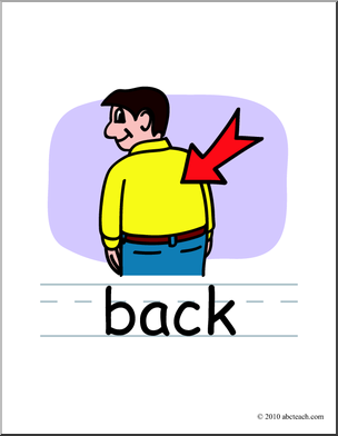 Back clipart body back.  collection of high