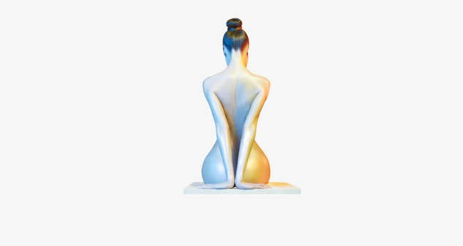 To woman beauty png. Back clipart body back