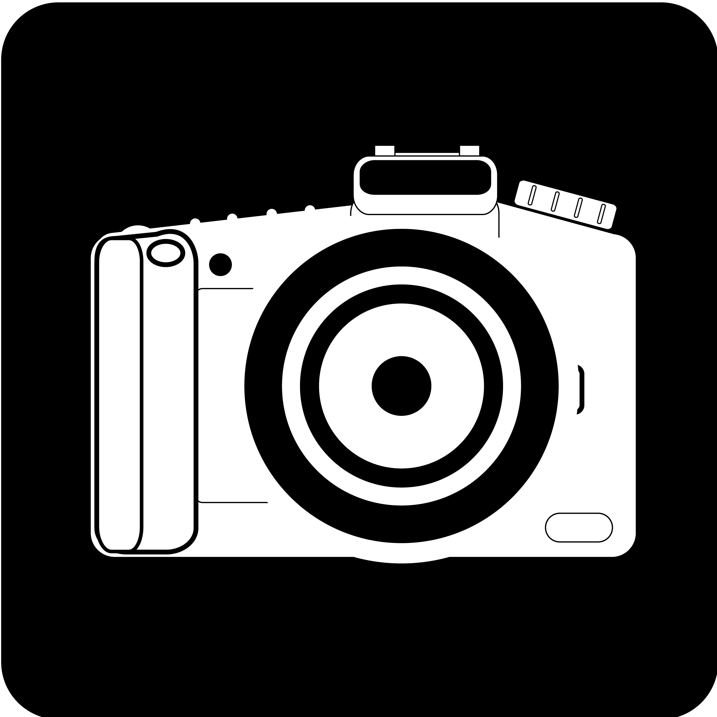 Flash silhouette panda free. Back clipart camera