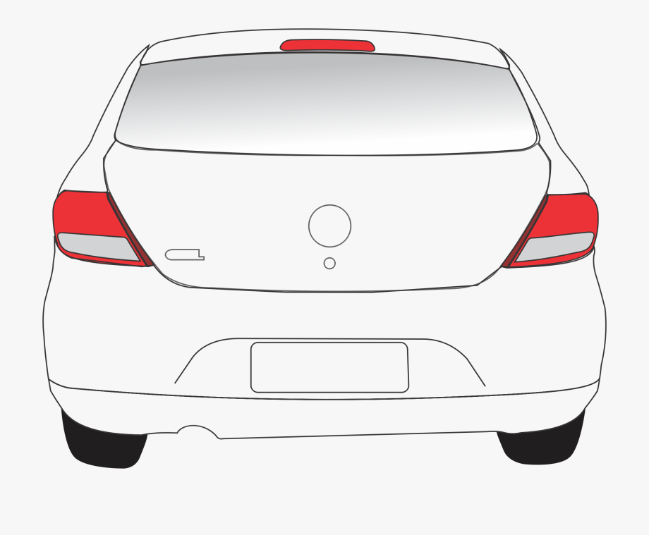 View free . Back clipart car