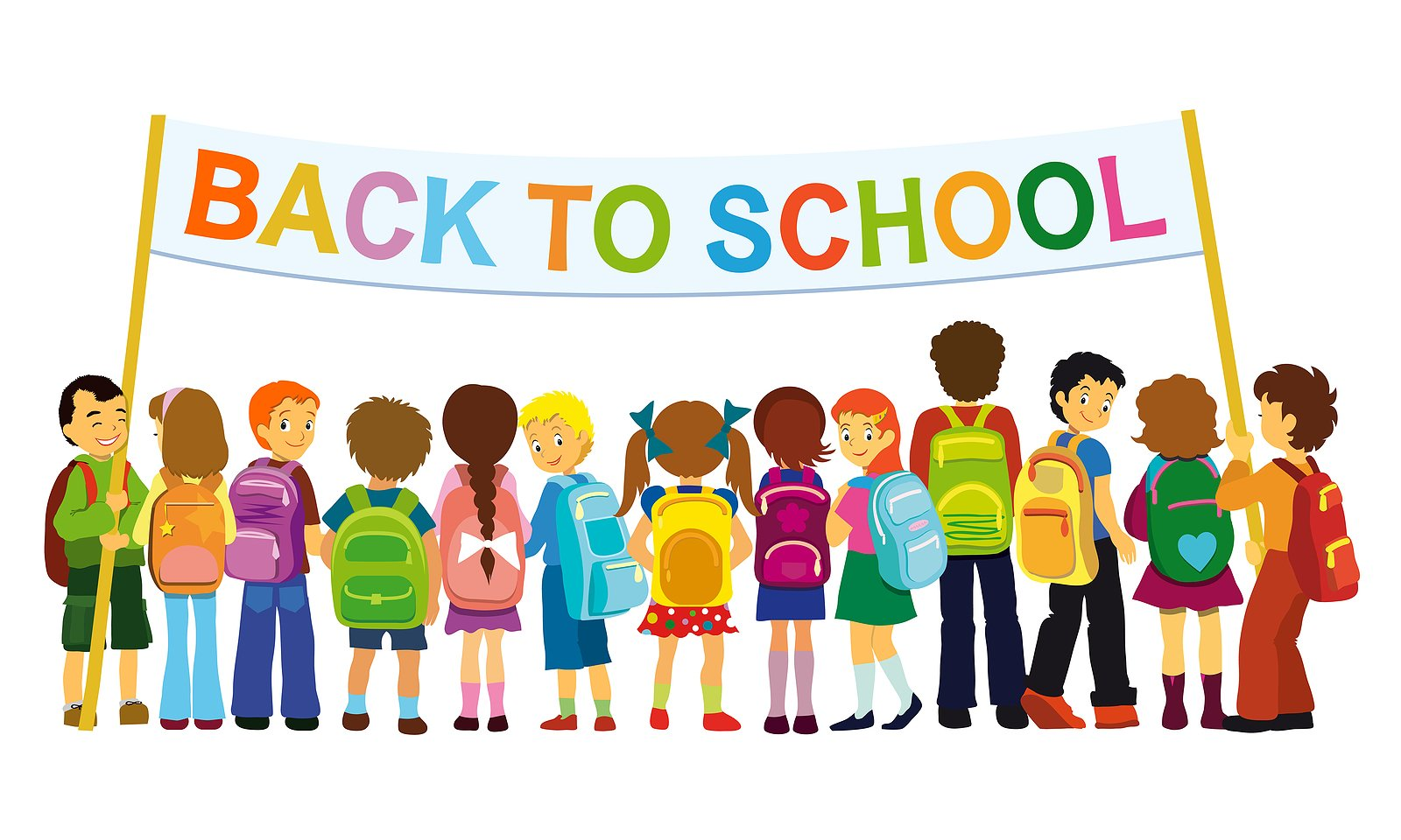 Welcome to school clip. Back clipart cartoon