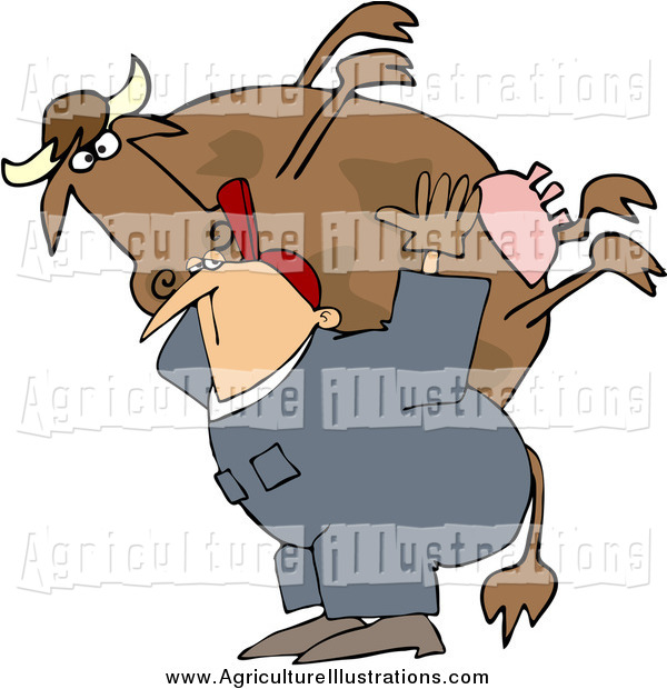 Back clipart cow. Agriculture of a white