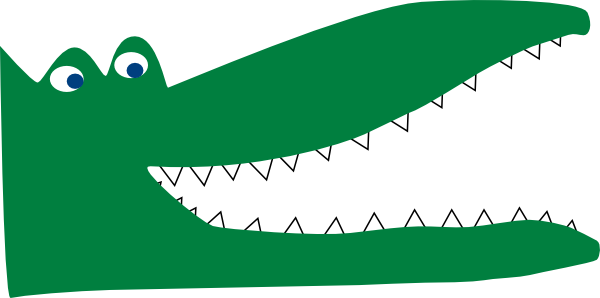 Head drawing panda free. Back clipart crocodile
