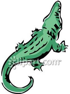 Back clipart crocodile. Of a royalty free