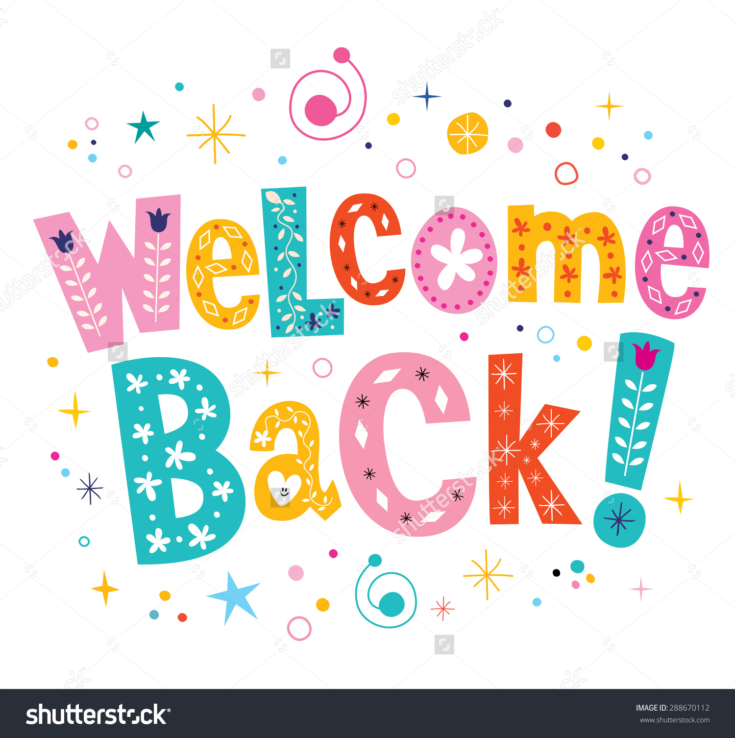 Free welcome to work. Back clipart cute