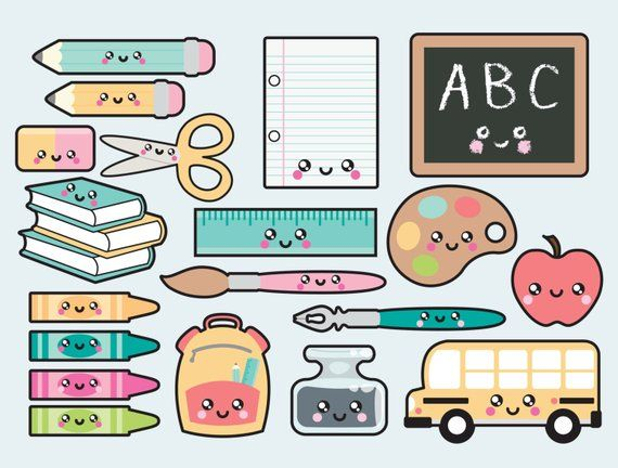 Premium vector kawaii to. Back clipart cute