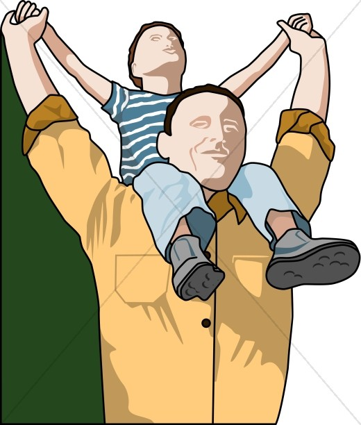 Back clipart dad. Father s day piggy