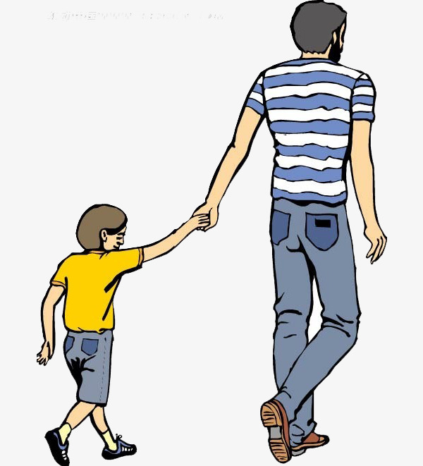 Father and daughter s. Back clipart dad