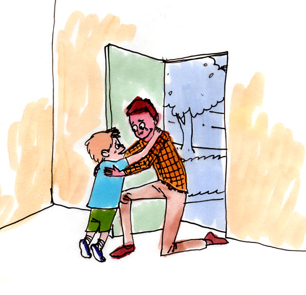 Back clipart dad. Bringing fathers home