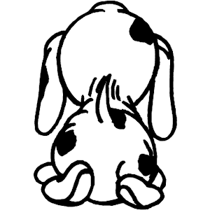 Back clipart dog. View cliparts of free