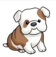 Cute cartoon dogs clip. Back clipart dog