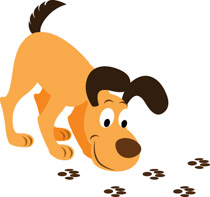 Search results for clip. Back clipart dog