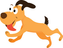 Back clipart dog. Free clip art pictures