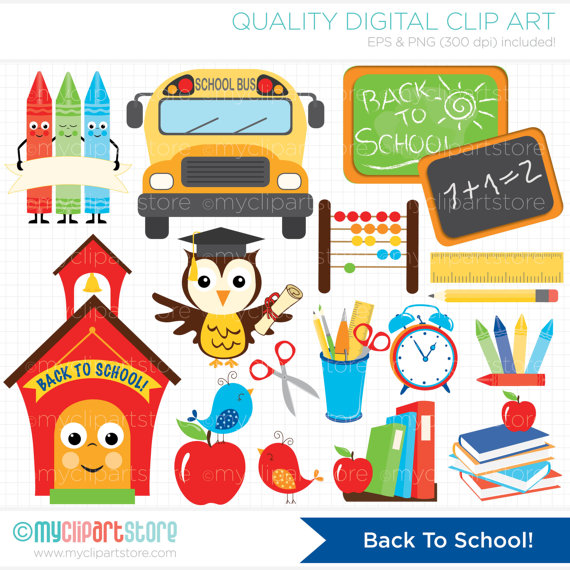 To school teachers . Back clipart educational