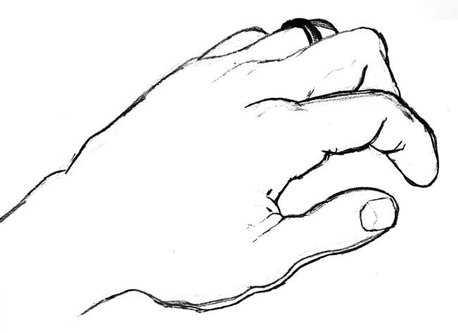 Back clipart hand. Drawing panda free images