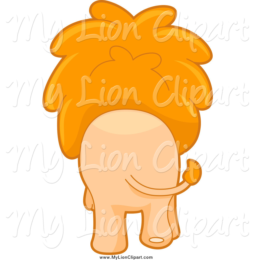 Back clipart lion. Of a rear view