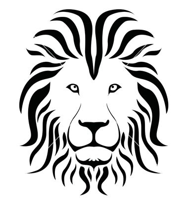 Shilouette silhouette vector biome. Back clipart lion