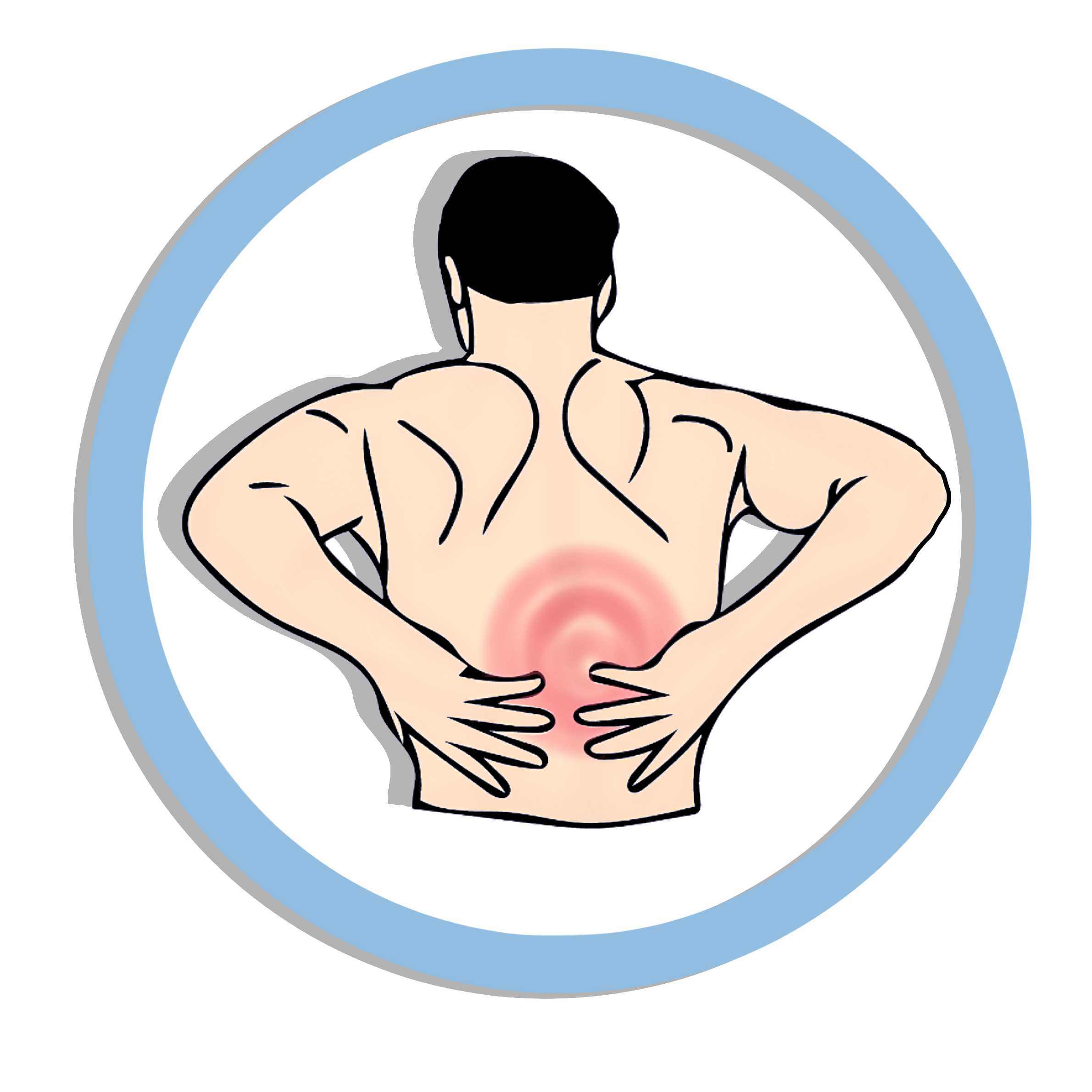 Back clipart muscle pain.  collection of png
