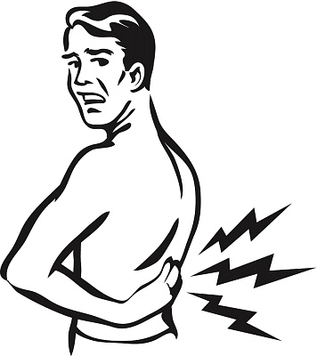 Injury clipart muscular pain. Back nomad blogger pixels