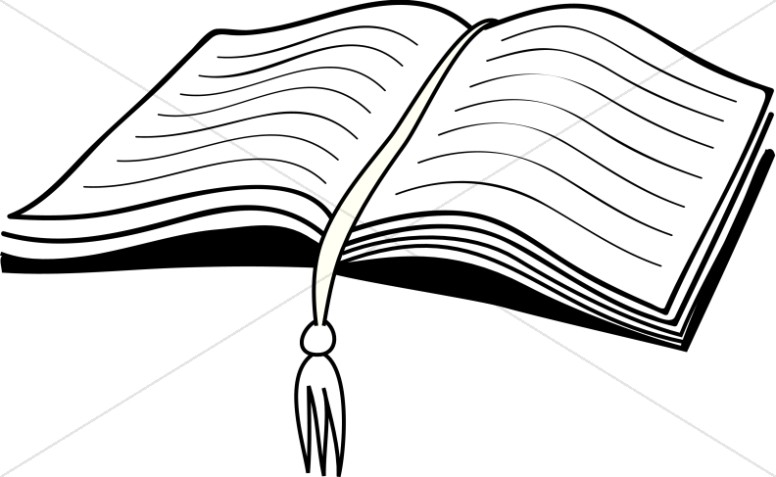 Bible silhouette at getdrawings. Back clipart open book