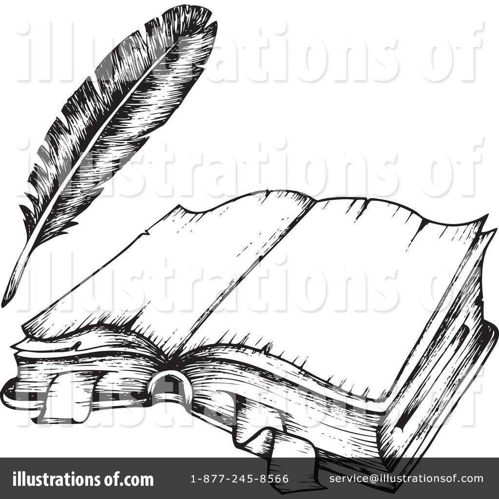 Back clipart open book. Illustration by visekart royaltyfree