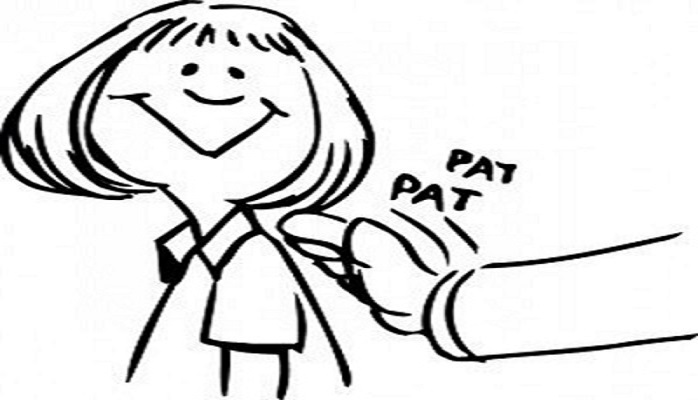 Back clipart pat. On the divorce coach
