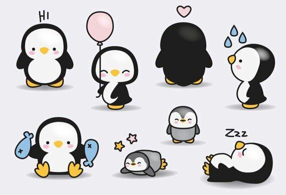 best clip art. Back clipart penguin