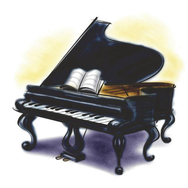 Back clipart piano. Evola music evolamusic twitter