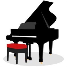 Back clipart piano. Silhouette wotomoro die cuts