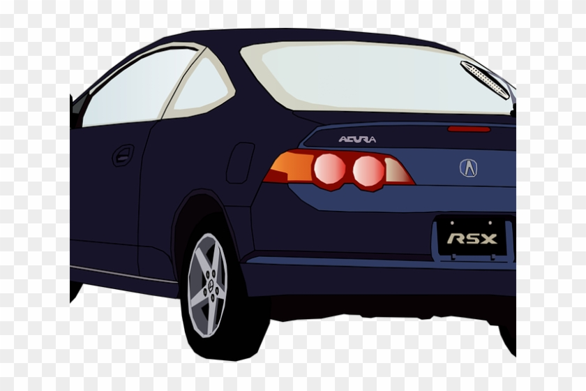 Back clipart rear. Car of clip art
