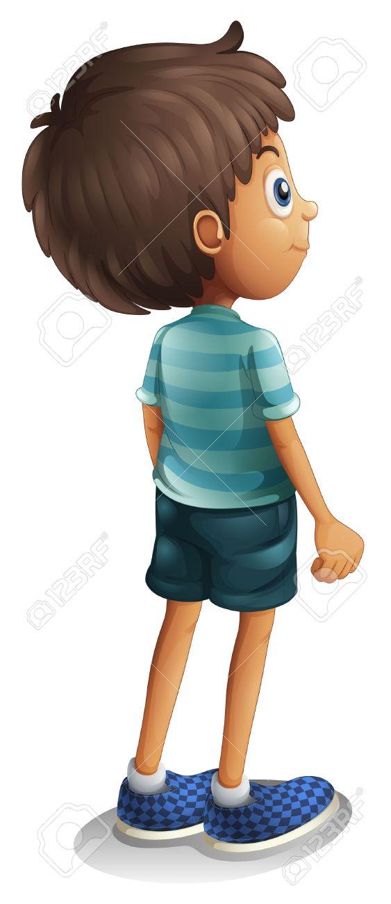 Back clipart rear. Kid body free pnglogocoloring