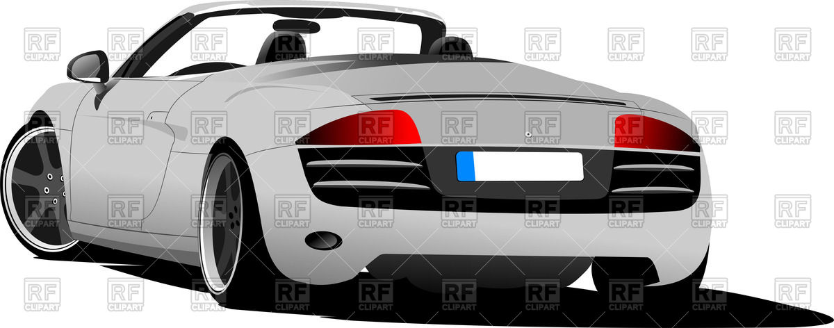 Car free collection download. Back clipart rear